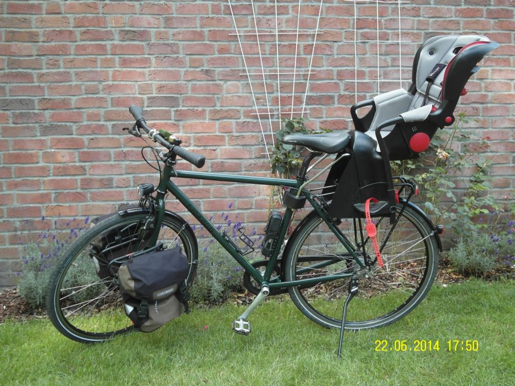 Jeden Tag 10 Km Radfahren